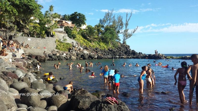 Guide Réunion: Plage de Manapany-les-Bains, Sud de la Réunion Y Intersection