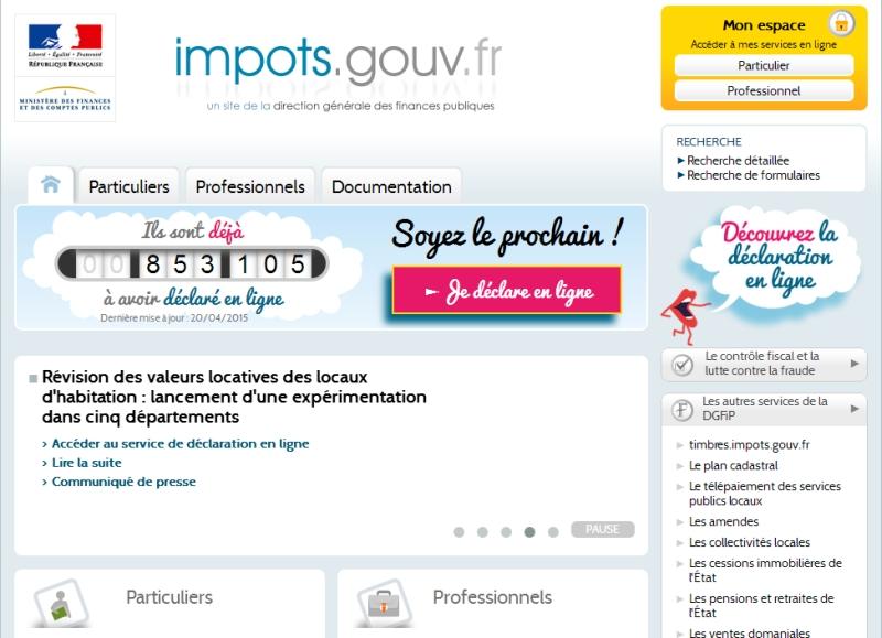Declaration Des Revenus De 2014 Pour L Impot 2015 Guide Reunion