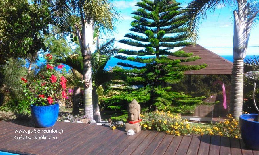 Guide r union la villa zen maison et table d 39 h tes de charme bois de n fles saint paul - Piscine dans petit jardin de ville saint paul ...