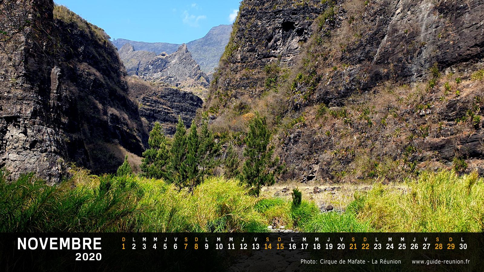 Calendrier 2020   2021 et vacances scolaires à la Réunion