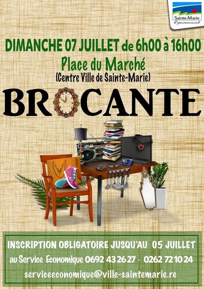 Brocante 03 Calendrier 2020.Brocantes Et Vide Greniers A L Ile De La Reunion Guide Reunion
